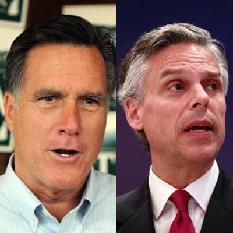 Mitt Romney & Jon Huntsman