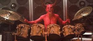 Satan the drummer