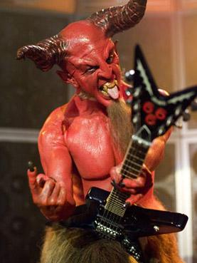 Satan the guitar player