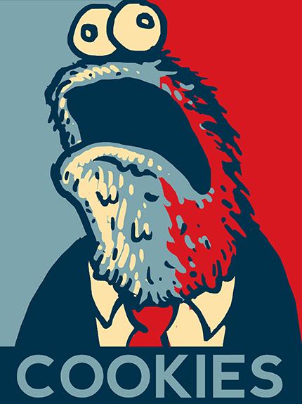 Cookie Monster for President